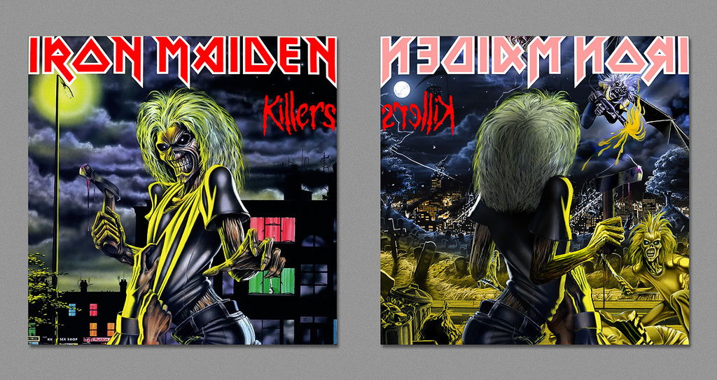 dark side iron maiden killers
