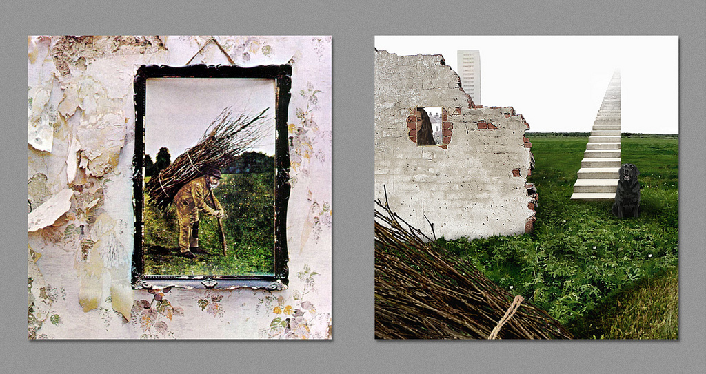 dark side led zeppelin IV