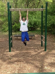 parallel pull ups - down