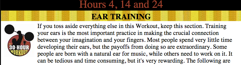 steve vair ear training