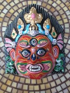 nepal mask third eye