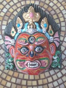 nepal mask third eye