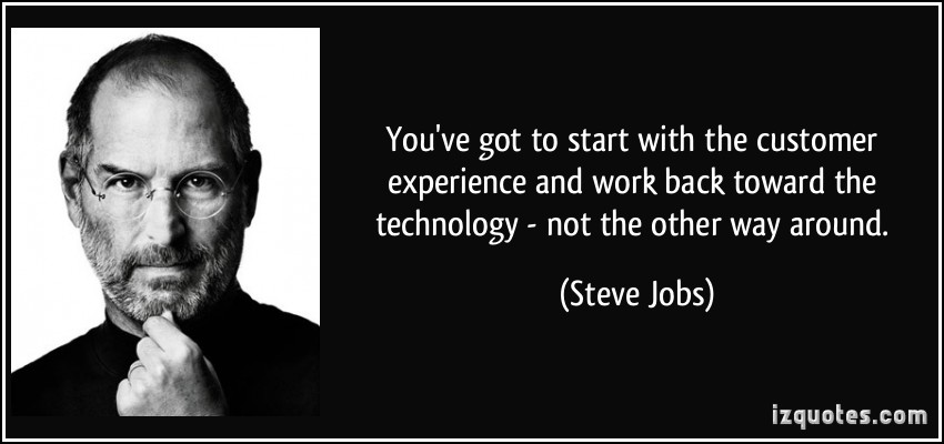 Steve Jobs Customer Experience Quotes